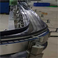 Out Feed Slat Chain Conveyor System