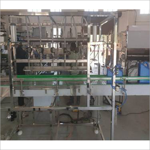Filling and Capping Machine For Mustard Oil Edible Oil Lubricant Oil