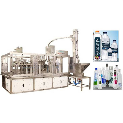 Rinsing Filling Capping Machine For Packaged Drinking Water Natural Mineral Water