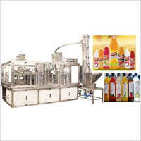 Rinsing Filling Capping Machine For Ready To Serve (RTS) Fruit Juice