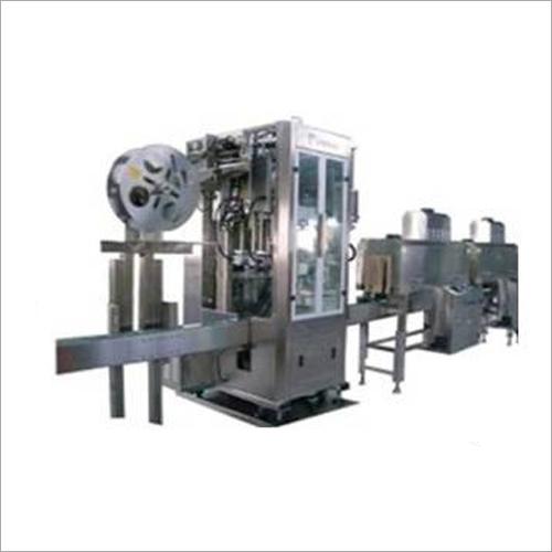 Industrial Shrink Sleeve Applicator Machine