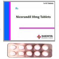 Nicorandil 10mg Tablets