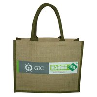 Pp Laminated Jute Bag With Rope Handle