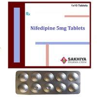 Nifedipine 5mg Tablets