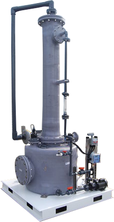 PP FRP Scrubber System