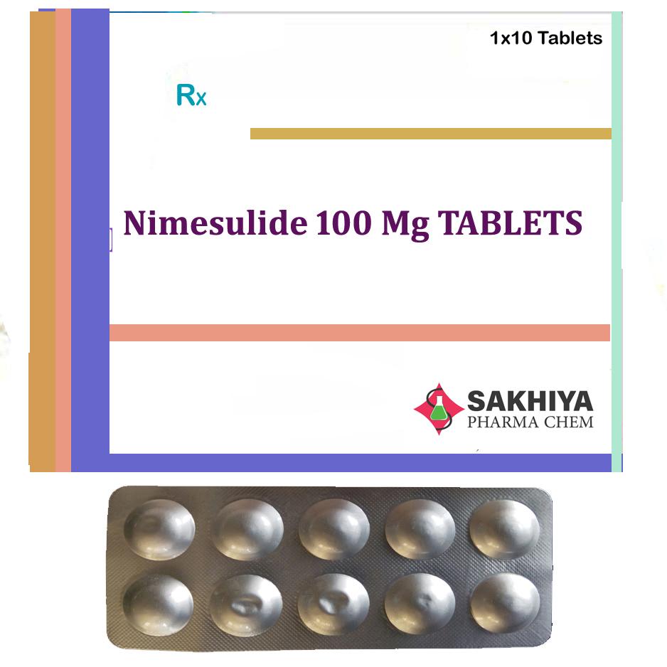 Nimesulide 100mg Tablets