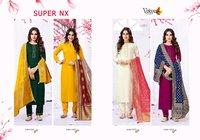 Volono Trendz Super Nx Heavy Rayon Readymade Suit Catalog