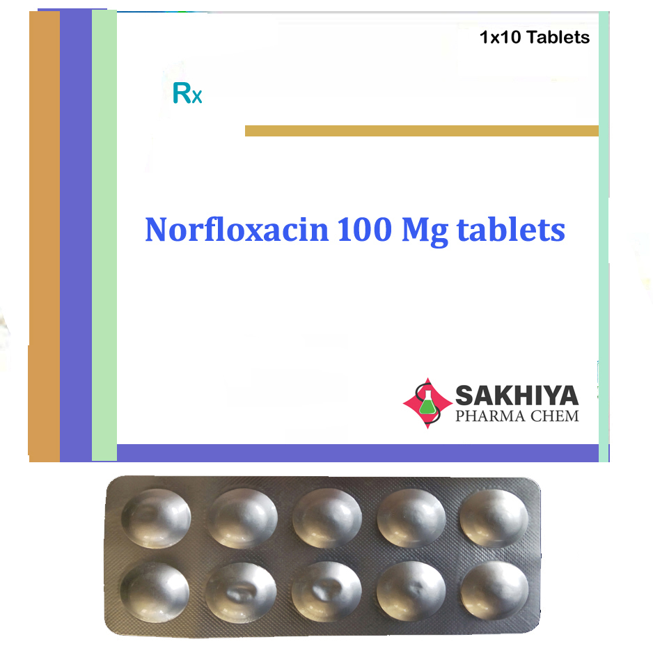 Norfloxacin 100mg Tablets