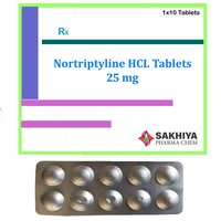 Nortriptyline HCL 25mg Tablets