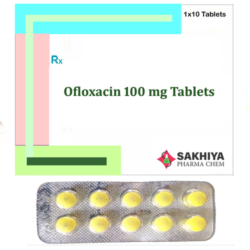 Ofloxacin 100mg Tablets