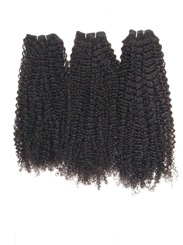 Steam made Afro Deep Curly Human Hair