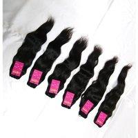 Raw Virgin Remy Silky Straight Wavy Raw Virgin Cuticle Aligned Indian Human Hair