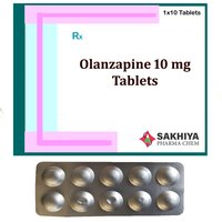 Olanzapine 10mg Tablets