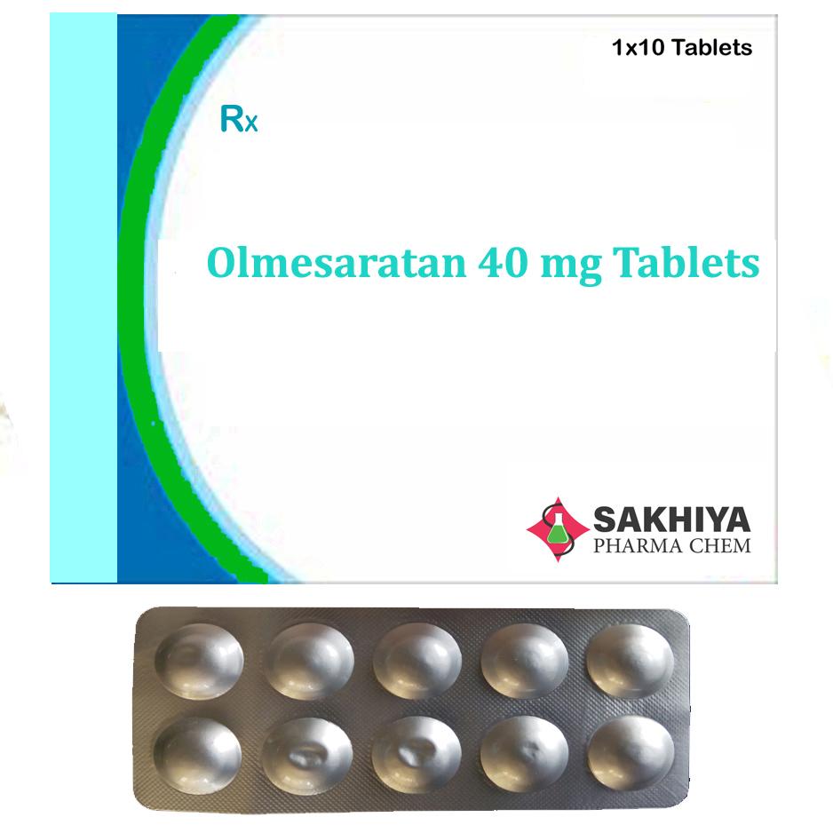 Olmesartan 40mg Tablets