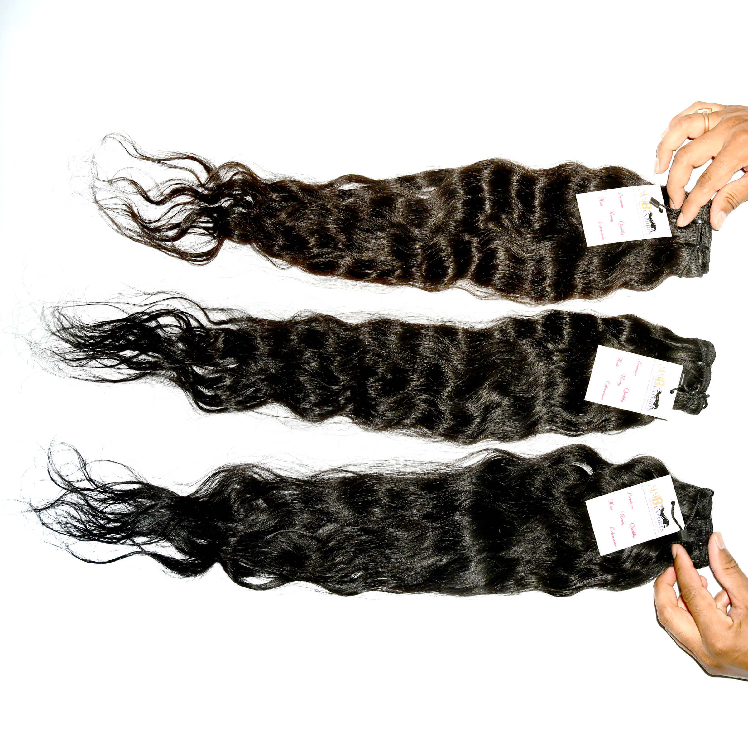 Raw Virgin Cuticle Aligned Hair Weave Human Loose Deep Wave Bundles,indian Raw Hair