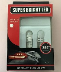 LED bulbs T10 Wedge 3SMD 2835 high quality White, Blue