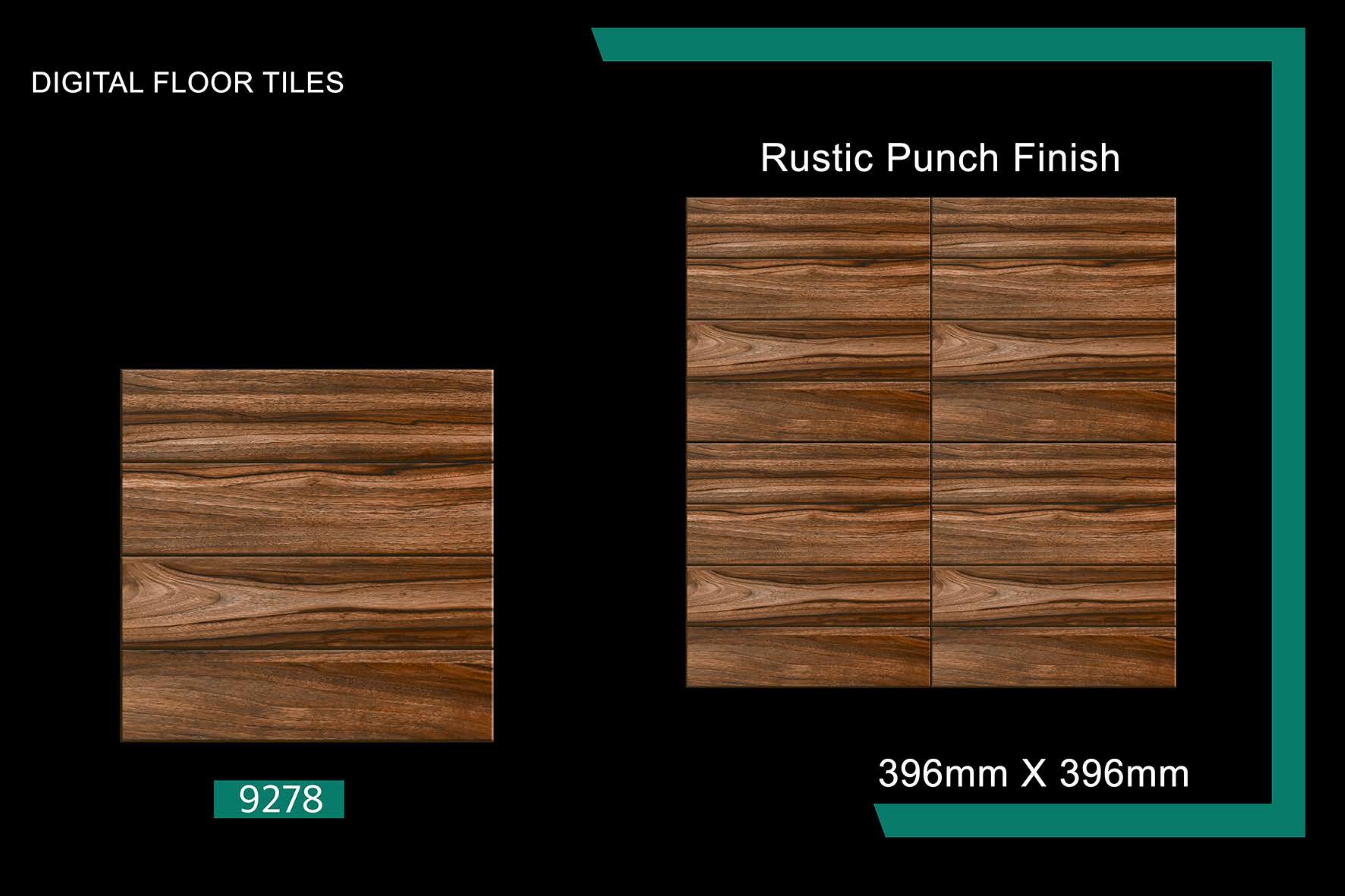 40x40 Wooden Finish Floor Tiles