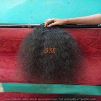 Indian Temple Virgin Curly Human Hair