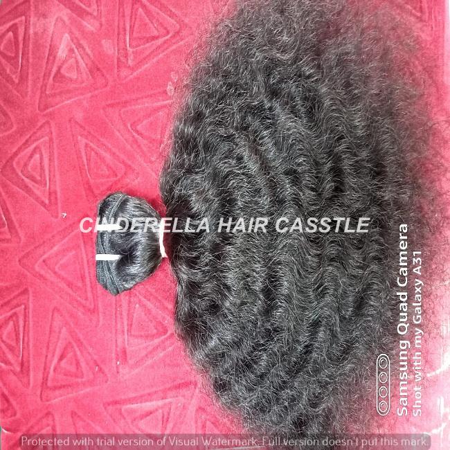 Indian Temple Virgin Curly Human Hair