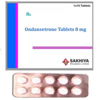 Ondansetrone 8mg Tablets