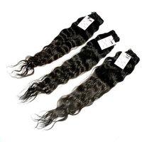 Raw Virgin Deep Wave/curly/wavy Human Hair Bundles With Closure Wholesale Virgin Raw Cambodian Hair,