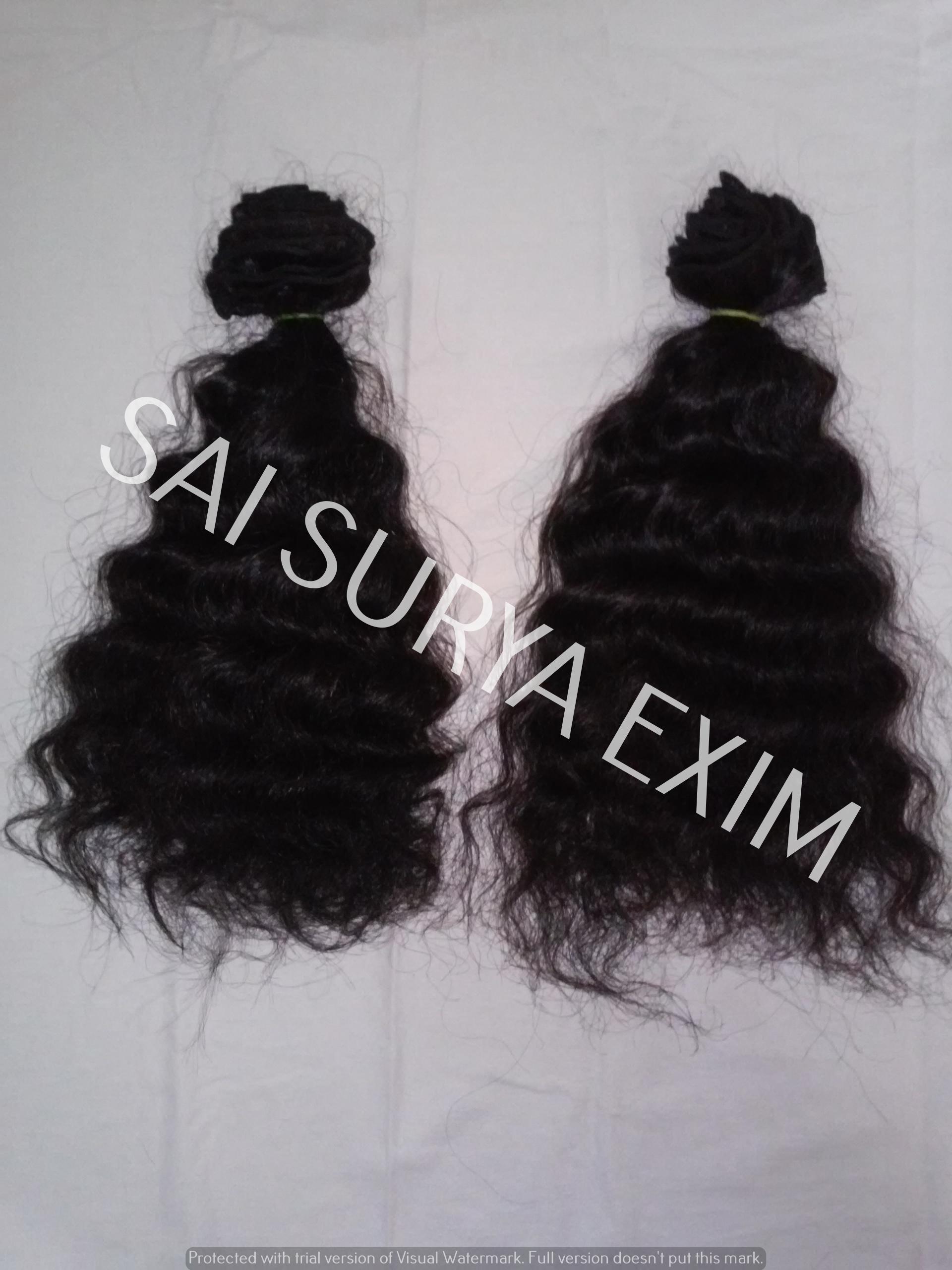 Indian Virgin Short Curly Human Hair