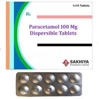 Paracetamol 100mg Dispersible Tablets