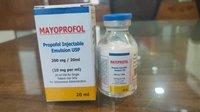 Mayoprofol 200 Mg / 20 Ml Emulsion Injection