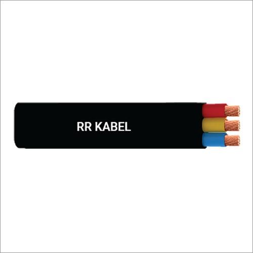 RR Cable PVC-PVC 3 Core Submersible Flat Cable