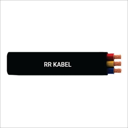 RR Cable XLPE-PVC 3 Core Submersible Flat Cable