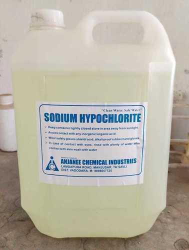 10 Liter Sodium Hypochlorite