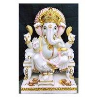 Handmade Exclusive Stone Ganesh Statue
