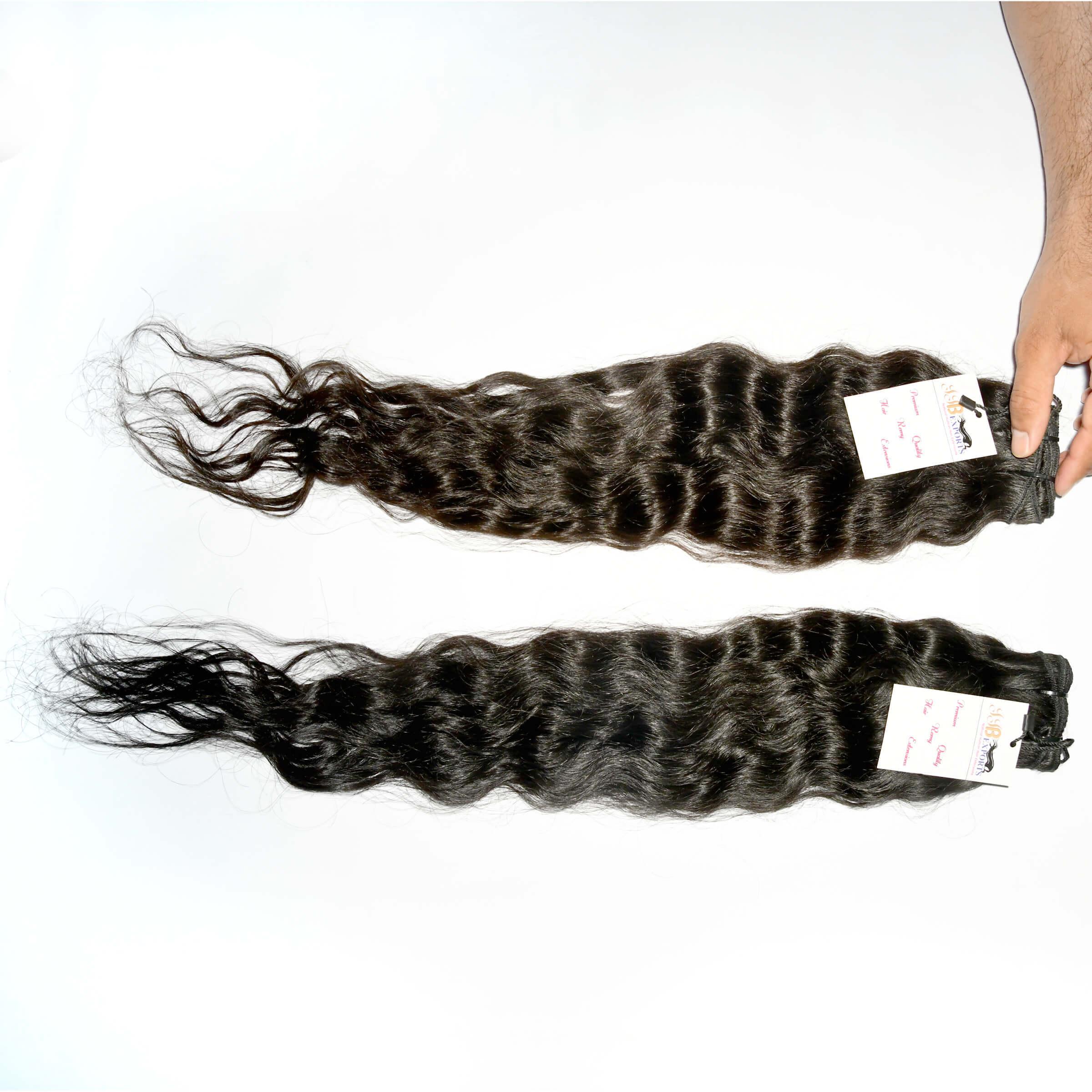 Peruvian Deep Wave Human Hair,100% Natural Color Hair Weave Raw Cuticle Aligned Indian Virgin Hair Extensions