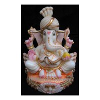 High Quality Marble Small Ganesha Statue