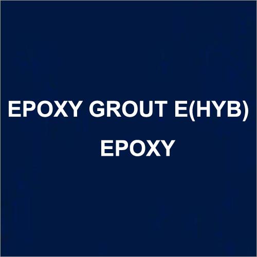Epoxy Grout E(HYB) Epoxy