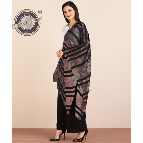 Women's Cotton Modal Silk Stoles Scarf Casual Wraps Women Multi-coloured