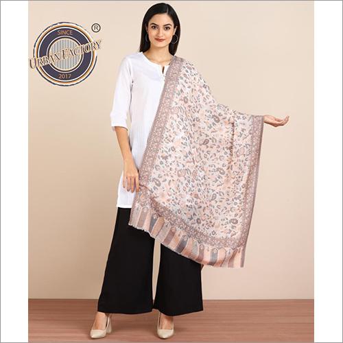 Pashmina Fine Wool Kani Cutting Stole For Women