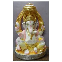 Home Decorative Marble Ganesh Statue