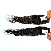 Temple Raw Indian Human Hair Extension  Virgin Cuticle Aligned Hair Deep Wave Brazilian Hair Bundle
