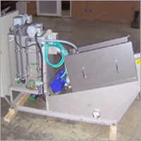 Sludge Thickening and Dewatering Plant
