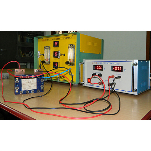 Manual Fuel Cell Test Station with DC Electronic Load Bank