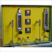 Manual Operated Single Cell Fuel Test Station