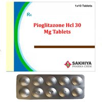 Pioglitazone Hcl 30mg Tablets