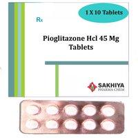 Pioglitazone Hcl 45mg Tablets