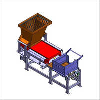 Industrial Hopper and Feeder Assembly