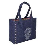 Denim Designer Tote Bag
