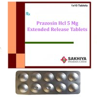 Prazosin Hcl 5mg Extended Release Tablets