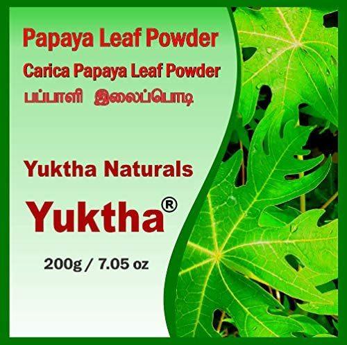 Yuktha Naturals Papaya Leaf Powder
