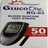 Dr. Morepen Glucoone BG 03 50 Glucometer Strips