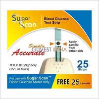 Thyrocare Sugar Scan 25 Strips